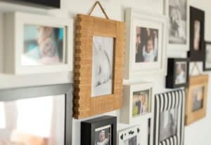 Family Photo Feature Wall