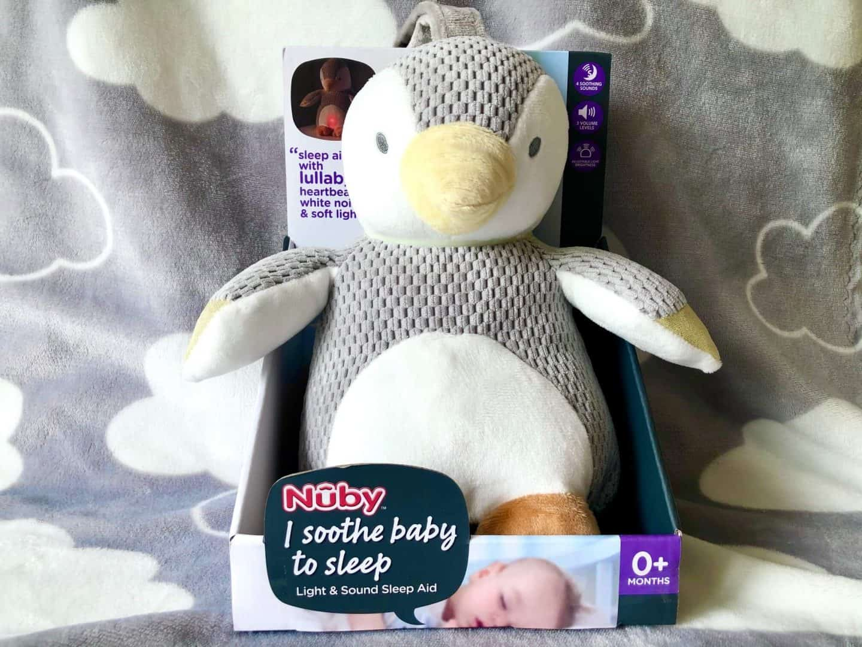 Light & Sound Penguin Sleep Aid