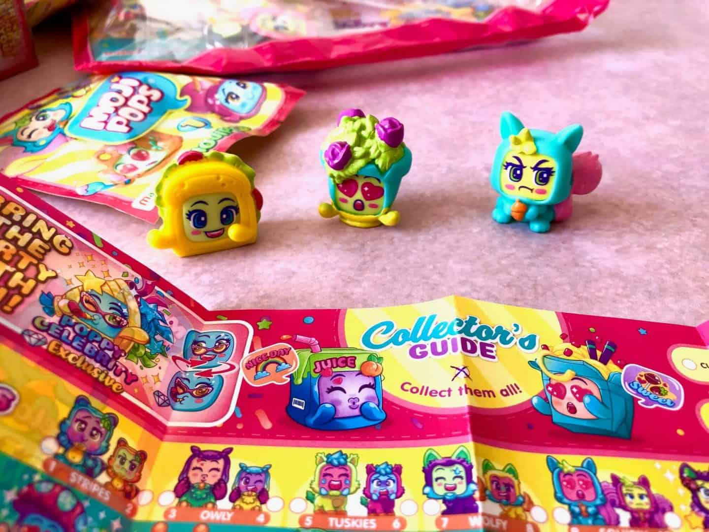 MojiPops Party Collectibles: Starter Pack, Club Room, Sunny Beach and Food Truck - Review