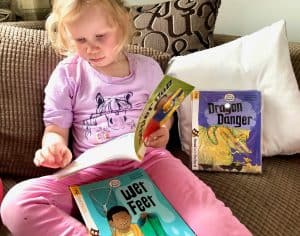 Learning To Read At 4 Years Old with Biff, Chip and Kipper