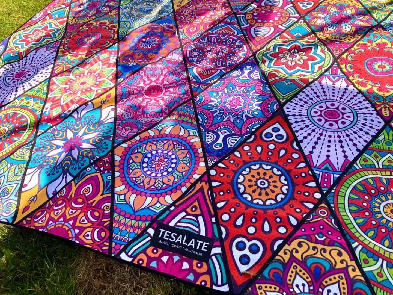 Summer Essentials - Bohemian print towel from Tesalate