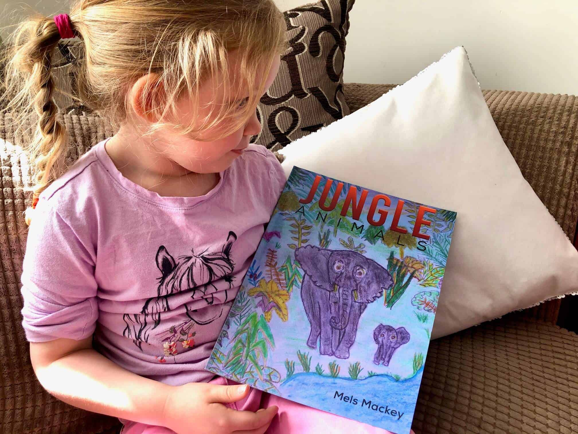 Jungle Animals by Mels Mackey - Review and Giveaway