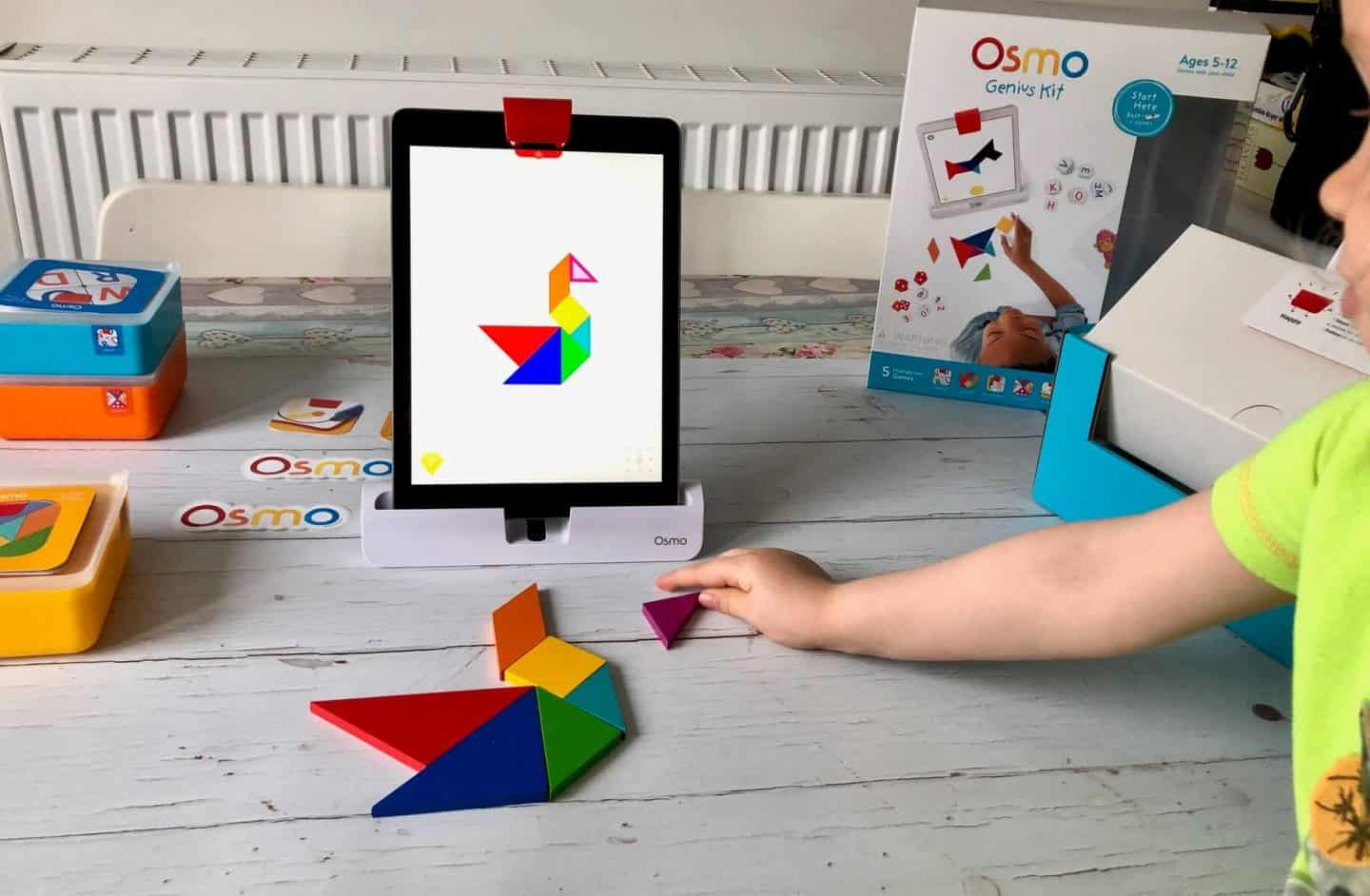 Osmo Tangram game