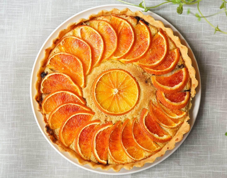 Torta Di Polenta Con Arance E Cointreau: Polenta Cake with Oranges & Cointreau