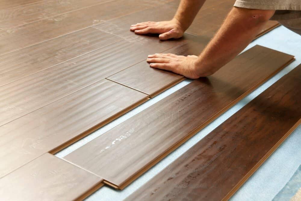 5 Ways To Update An Old Kitchen - laminate flooring