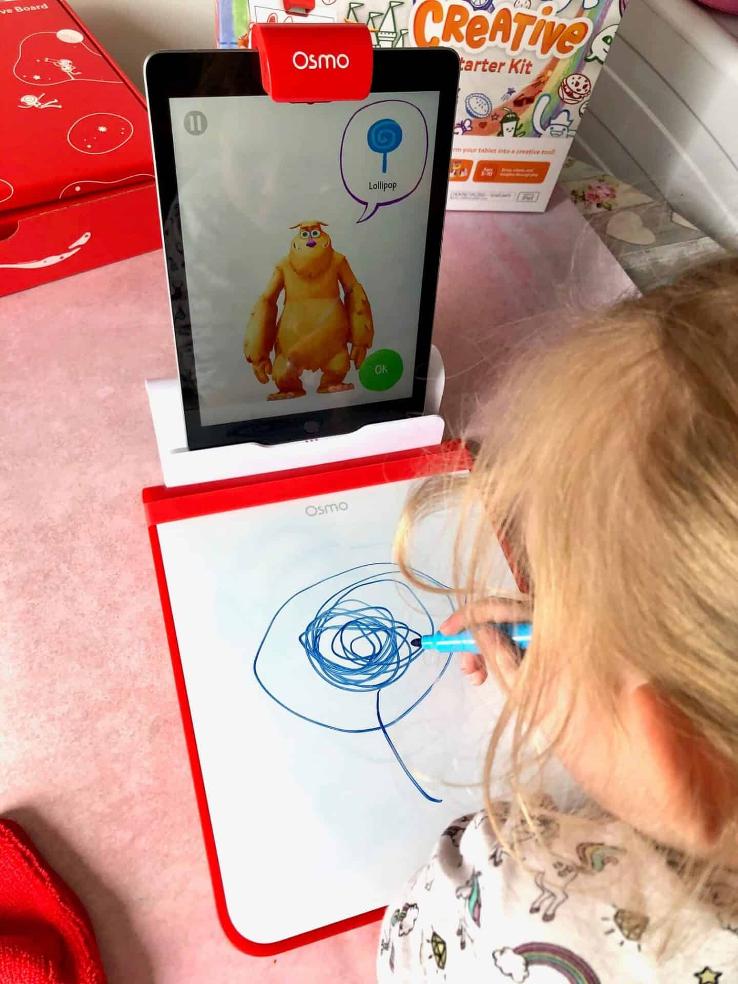 Drawing with Osmo Creative Starter Kit
