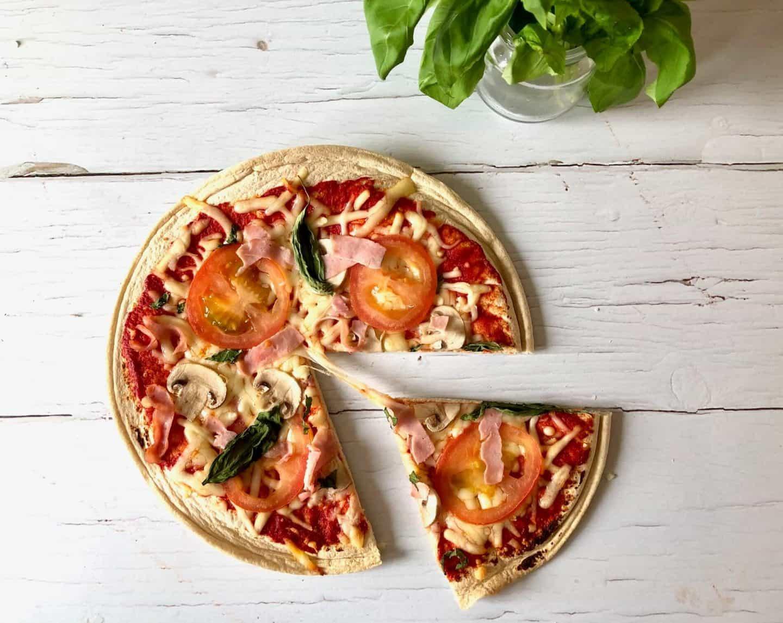 Lo-Dough pizza