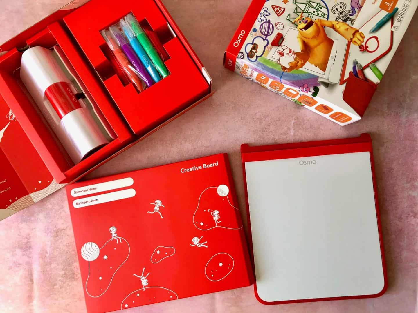 Whats in the Osmo Creative Starter Kit