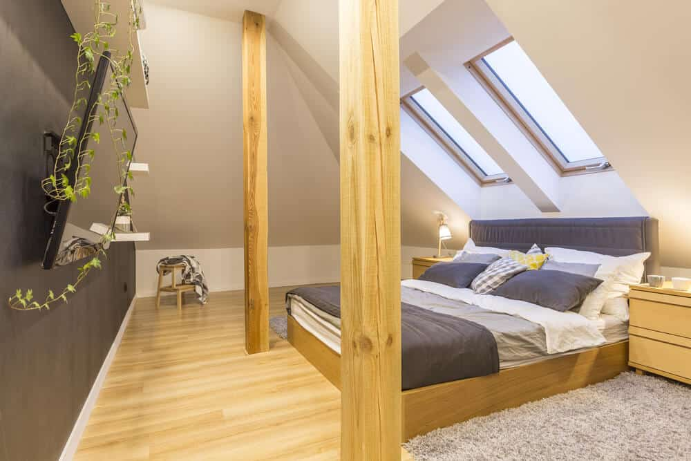 5 Ways to Turn Unused Space Into the Rooms You Need - attic into bedroom