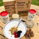Erbology Review - Chia powder, Sea buckthorn, Amaranth grain, Tigernut Granola