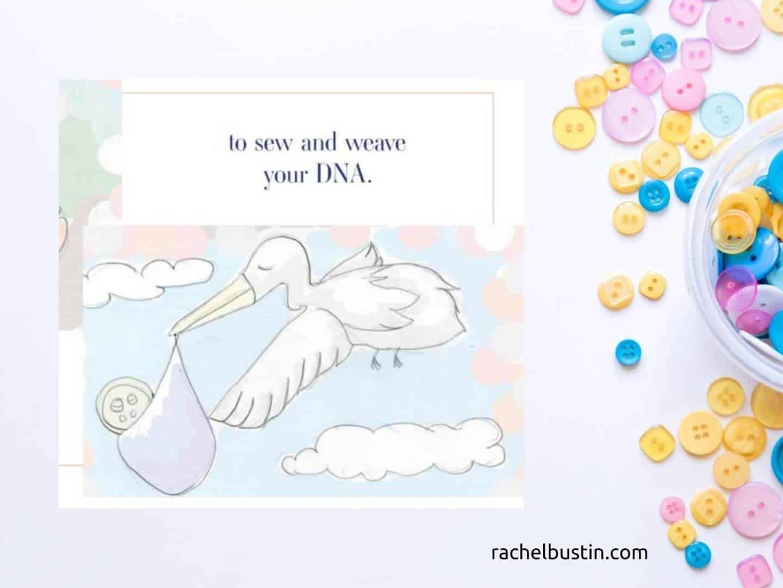 How I made You illustrations - stork