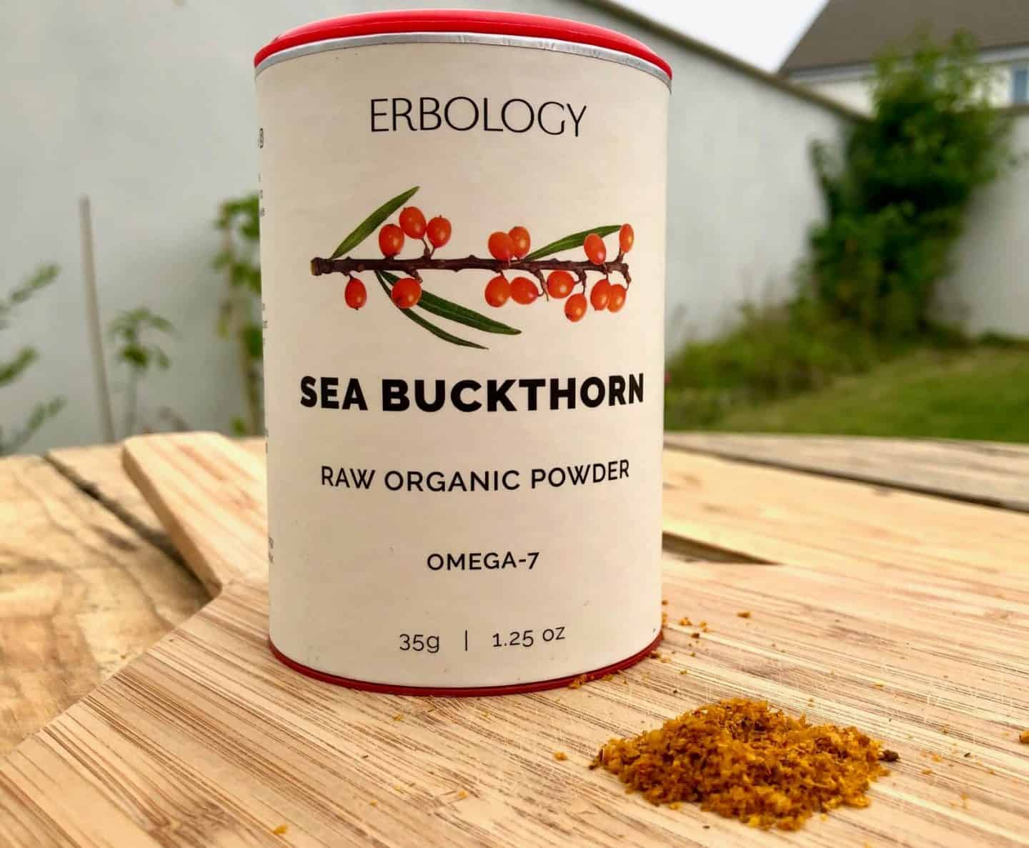 Sea Buckthorn organic powder - rich in omega 7