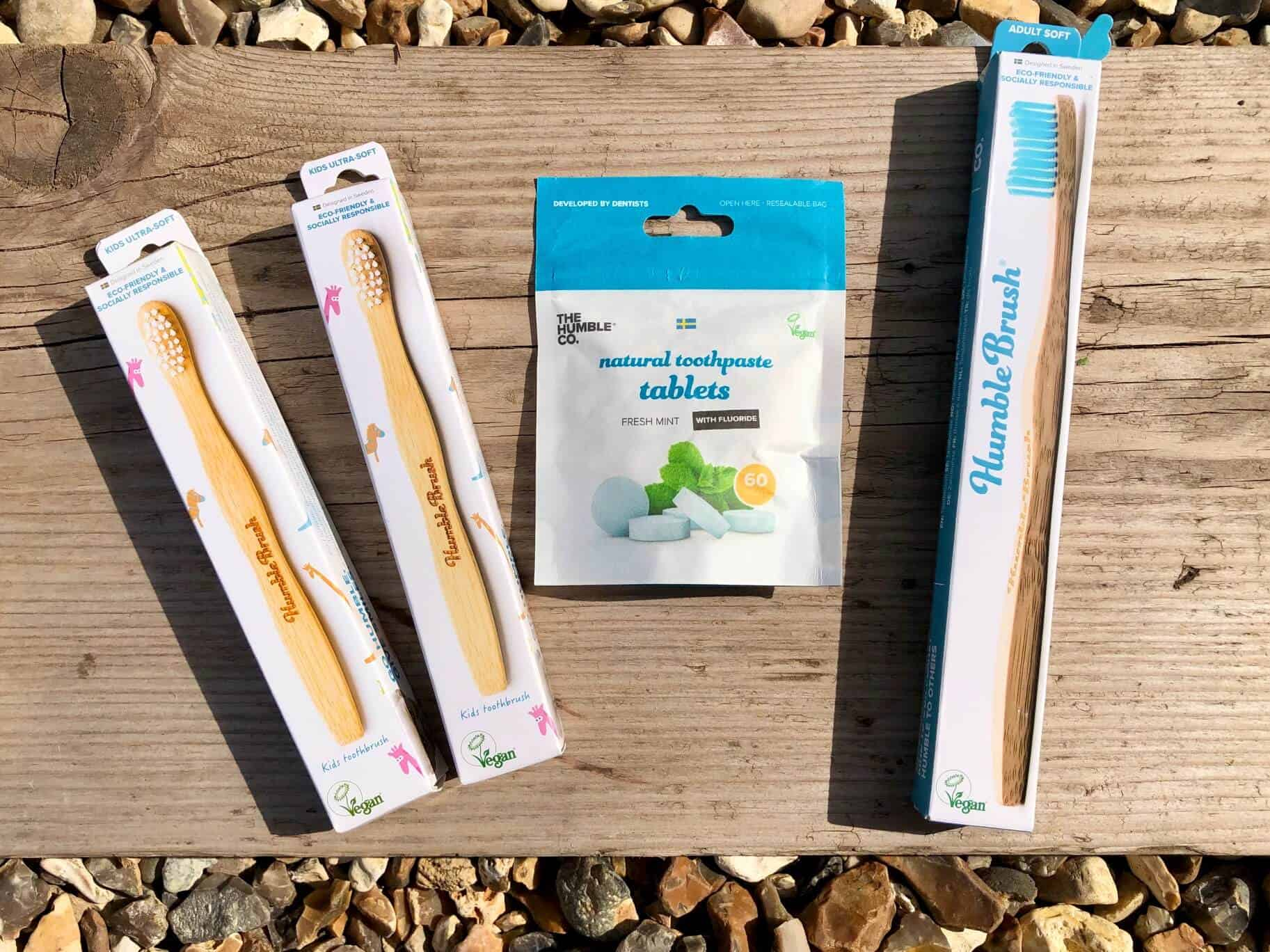 The Best Eco-Friendly Biodegradable Bamboo Toothbrush - The Humble Brush