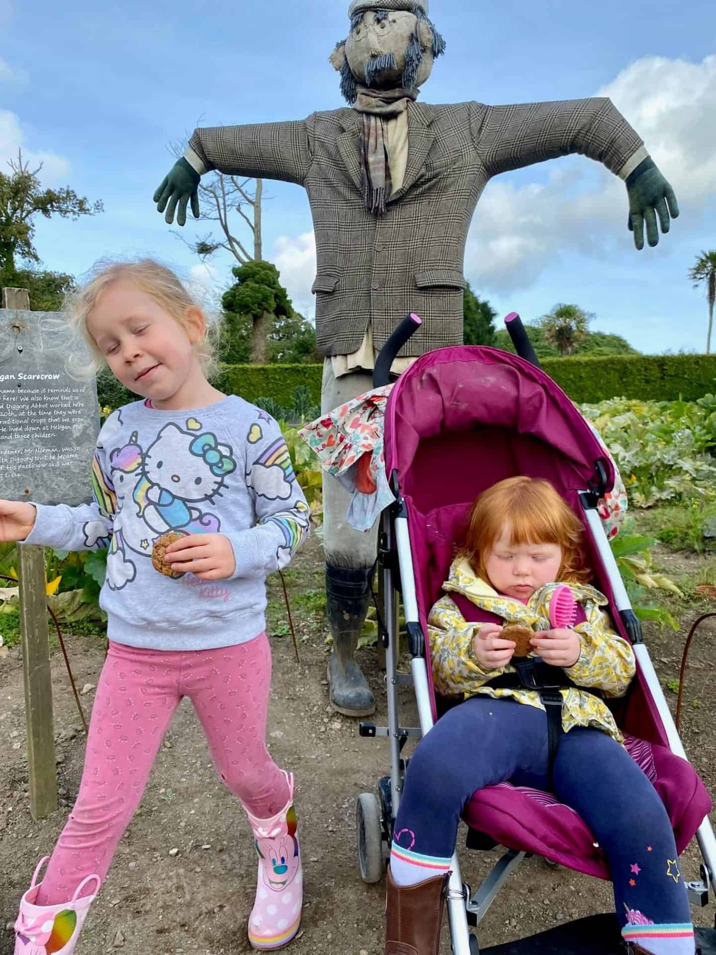 A morning out at Heligan gardens September 2020