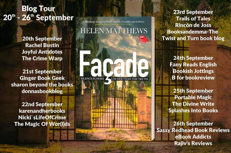 Blog Tour Stops For Facade