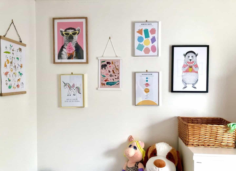 Fantastic Wall Art Ideas For a Kid's Bedroom