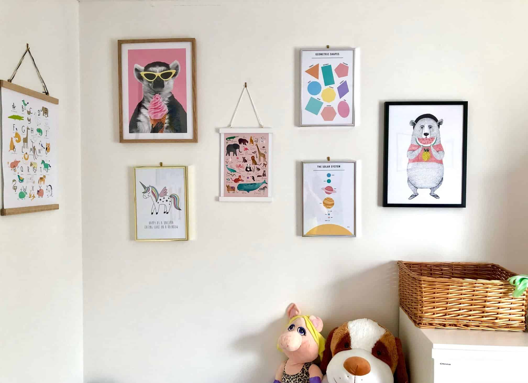 Fantastic Wall Art Ideas For a Kid's Bedroom