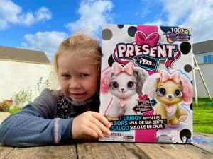 Present Pets Fancy Puppy: The Self Unboxing Interactive Plush Pet Toy - Review