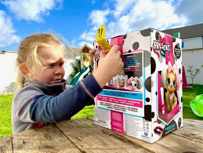 Present Pets Fancy Puppy unboxing