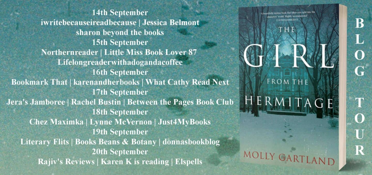 The Girl From The Hermitage by Molly Gartland blog tour