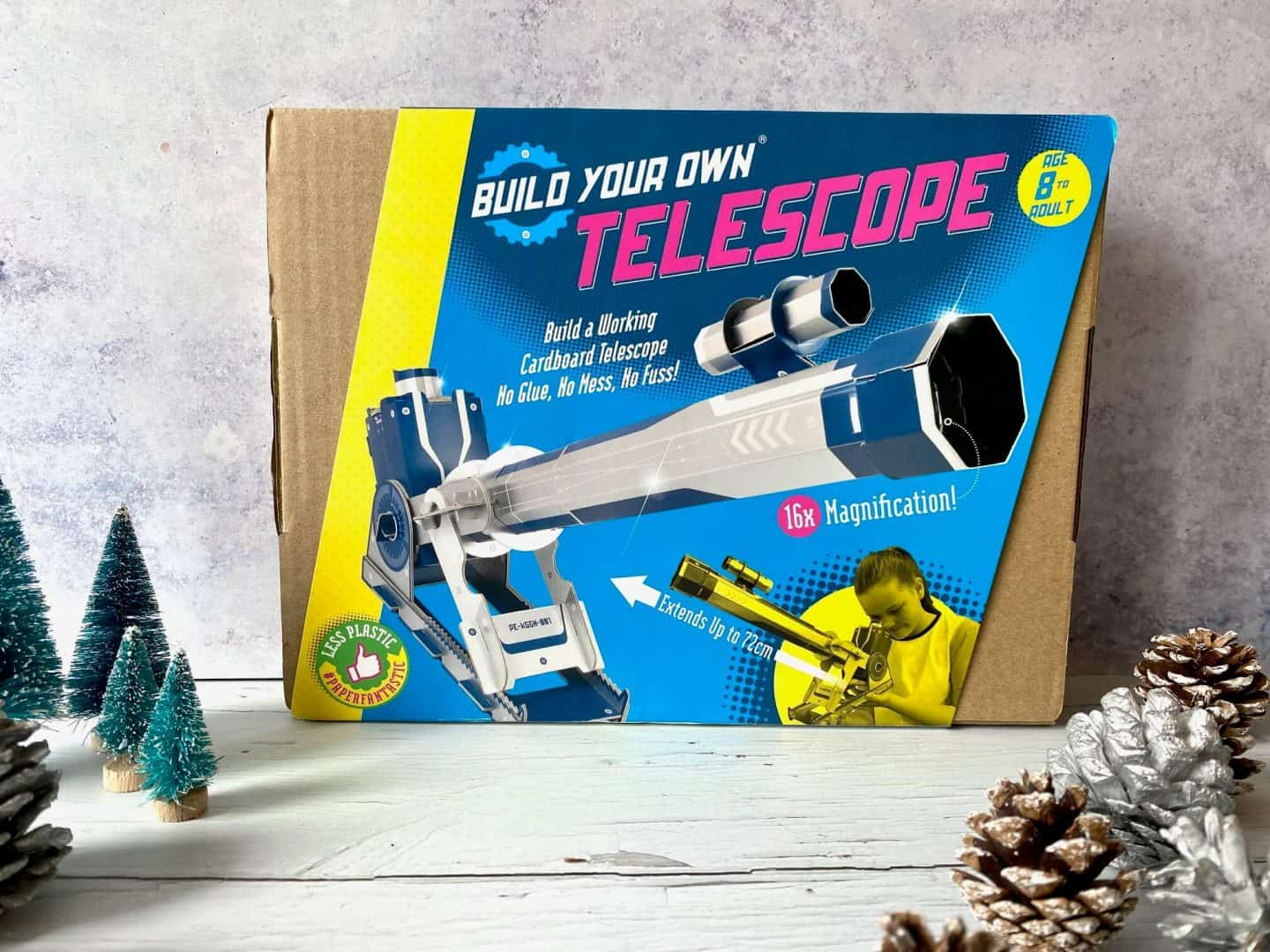 Build your own Telescope - a working telecope made from cardboard