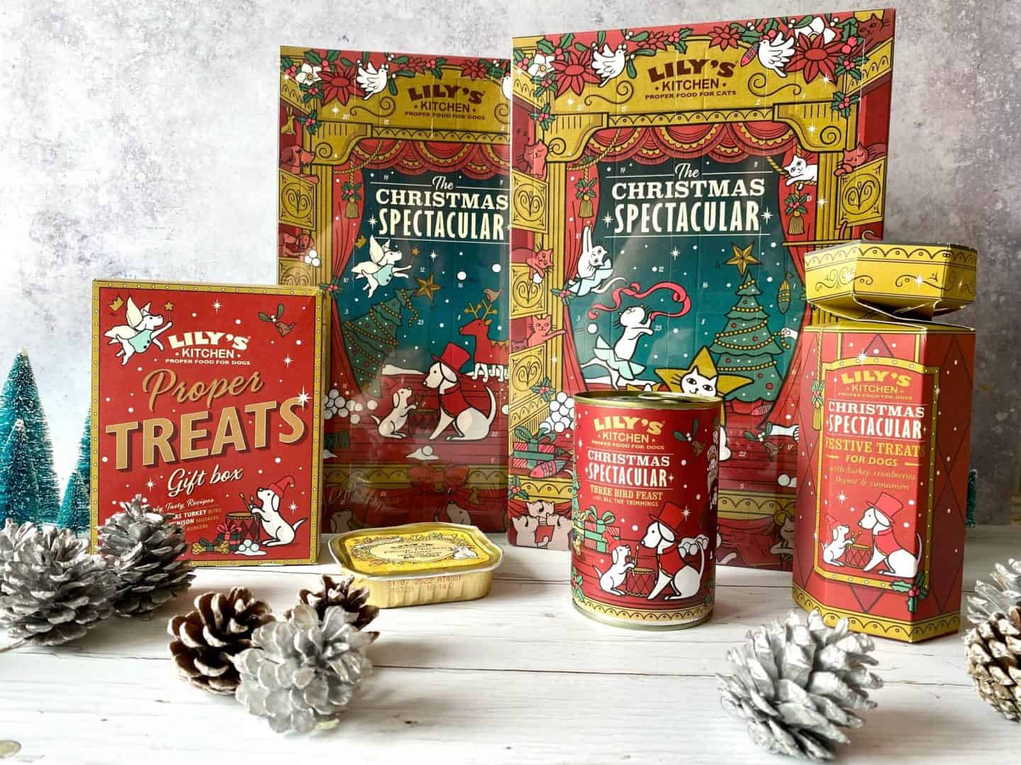 From advent calendars to turkey dinners, Lily's Kitchen has got the ultimate festive menu to make sure your pets are part of the family this Christmas