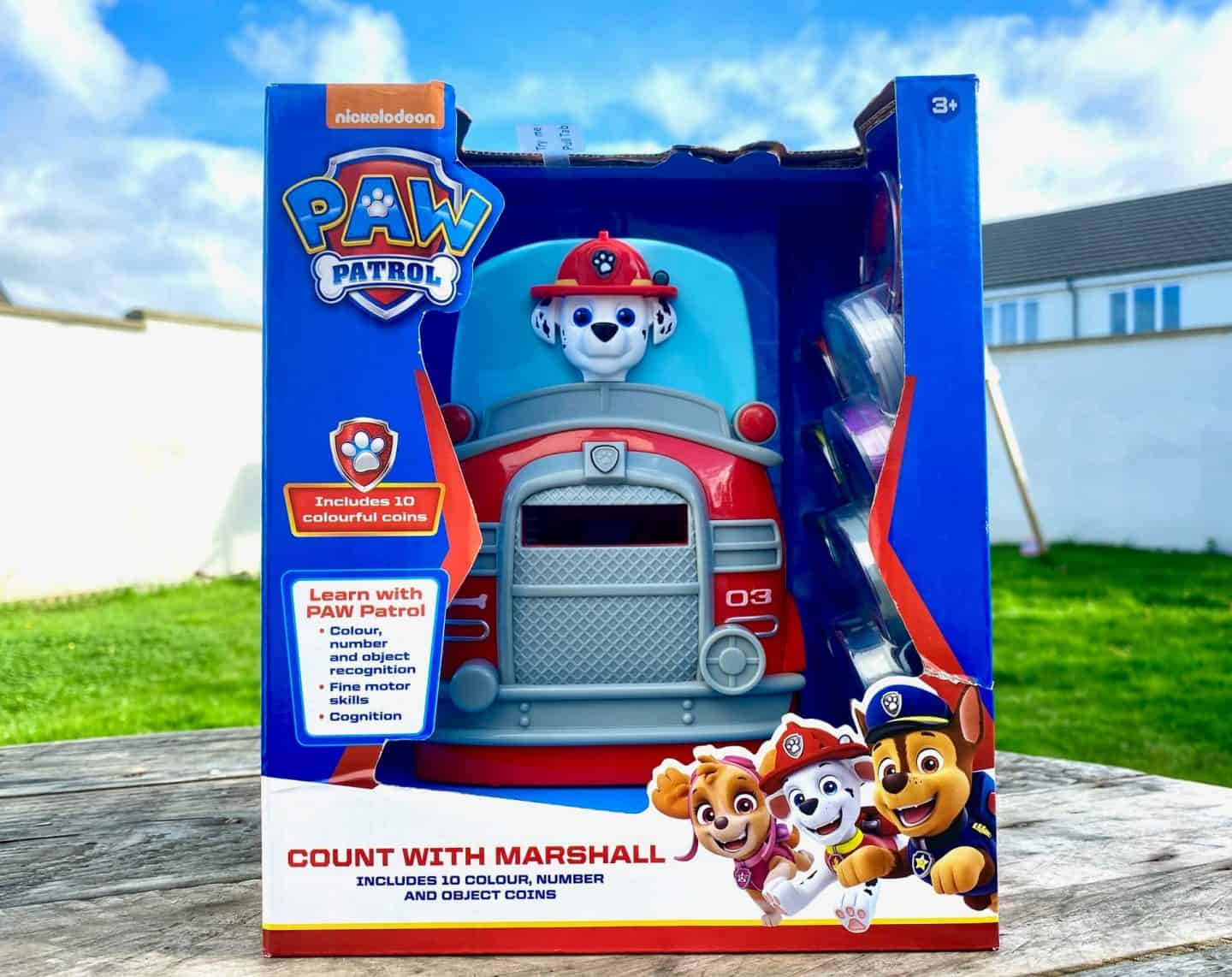 PAW Patrol Electronic Learning Toys Review Count with Marshall