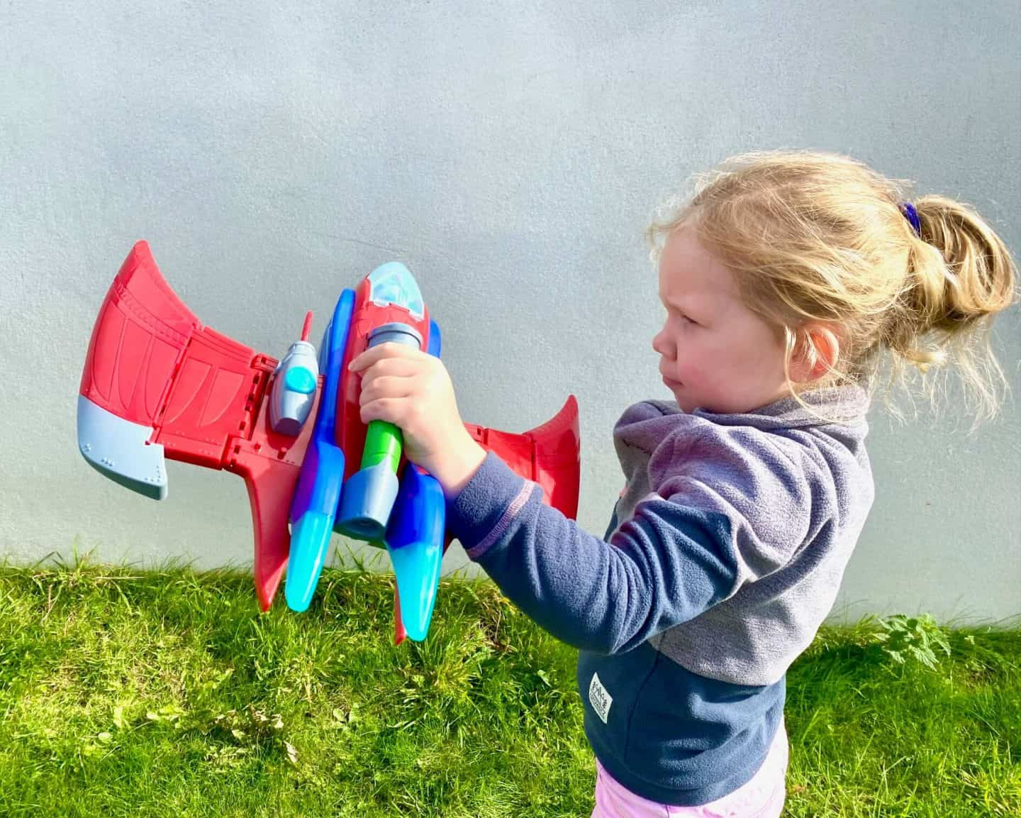 PJ Masks Air Jet Flying in the air extended