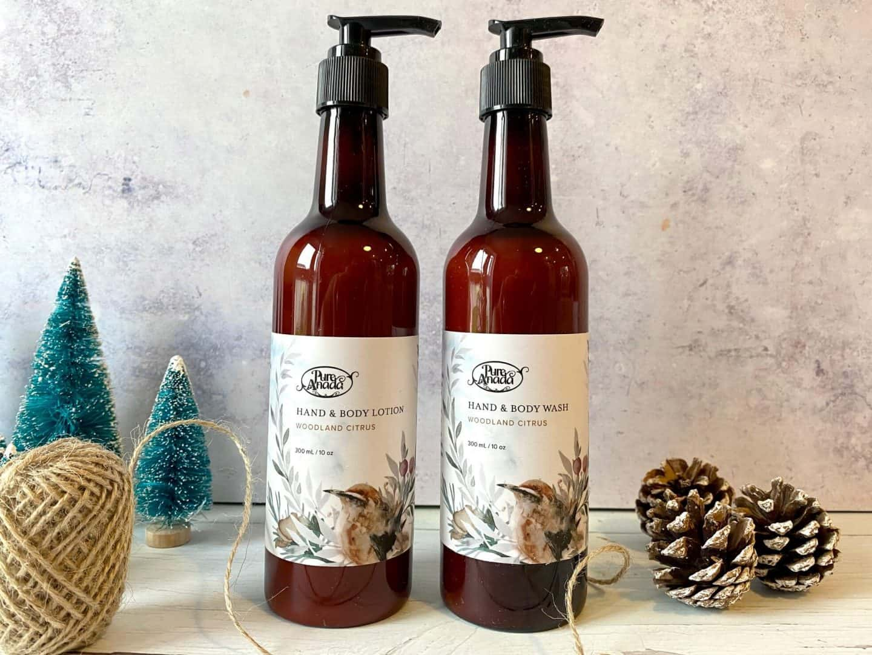 Pure Anada Woodland Citrus Hand and Body Wash