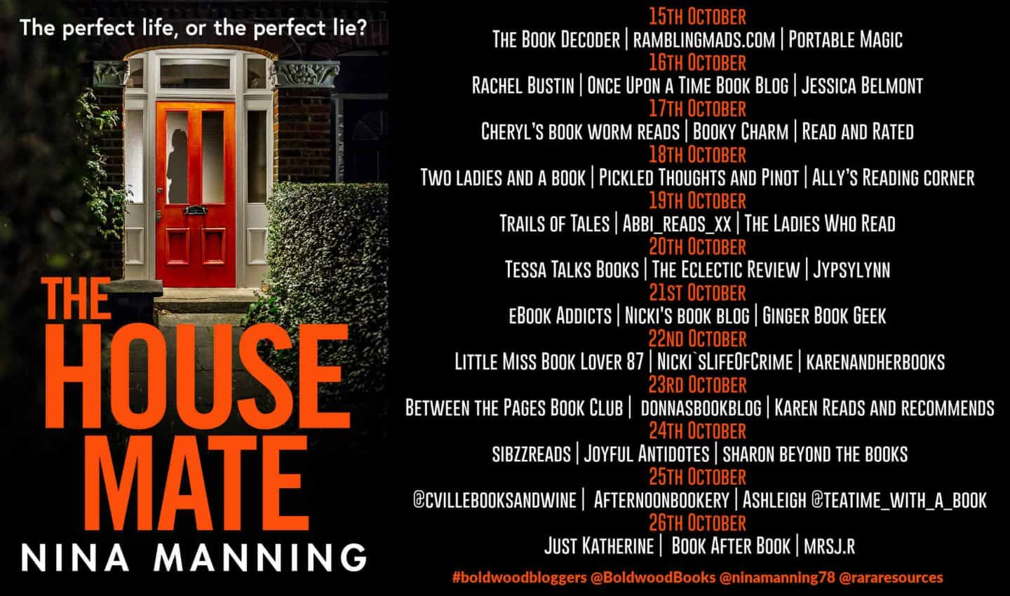 The House Mate Blog Tour