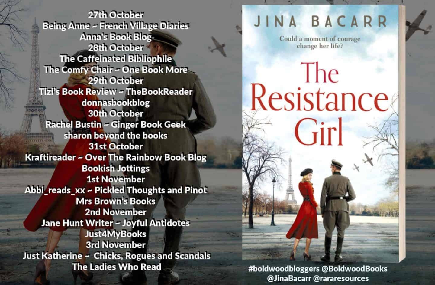 The Resistance Girl by Jina Bacarr