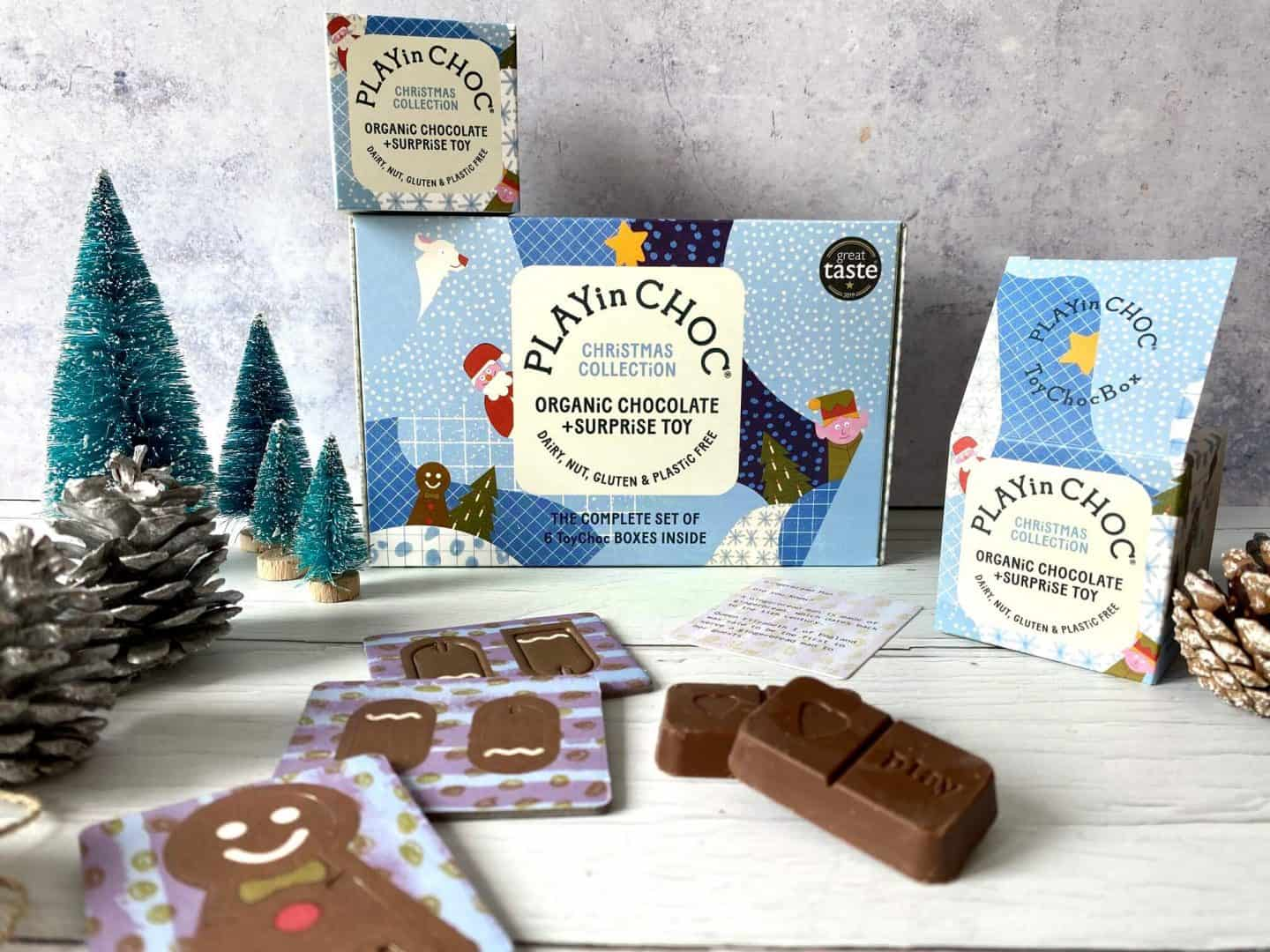 ToyChoc Boxes from Christmas collection