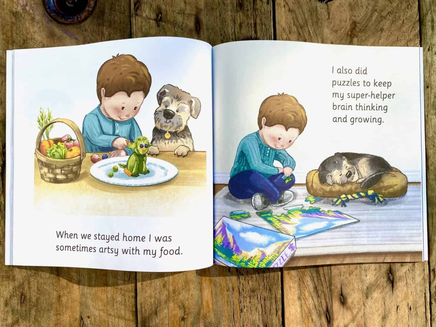 When We Stayed Home - kids book