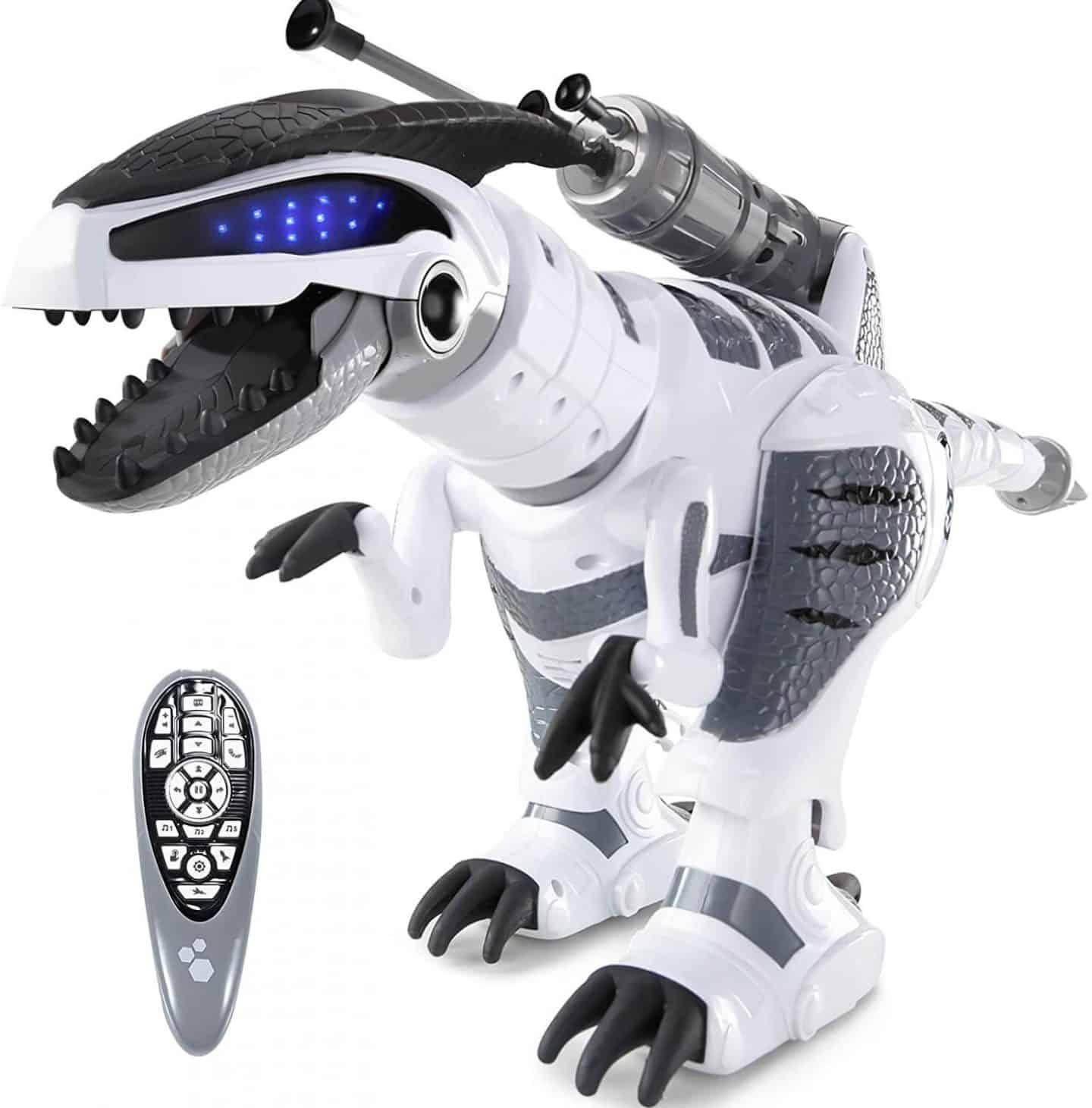 RC Dinosaur Robot - Touch Sensing Robot with Battle Mode, Roar & Dance,