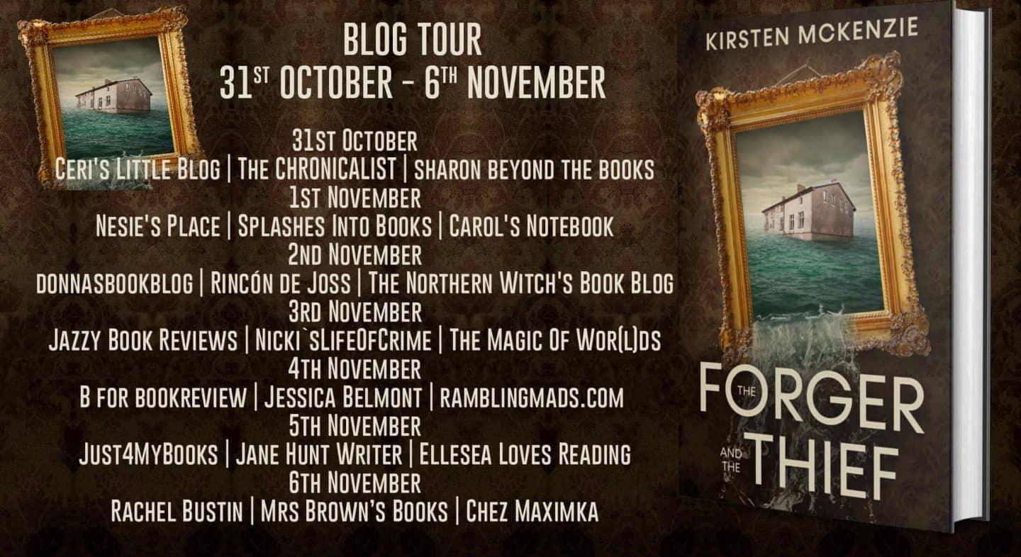 The Forger and the Thief blog tour