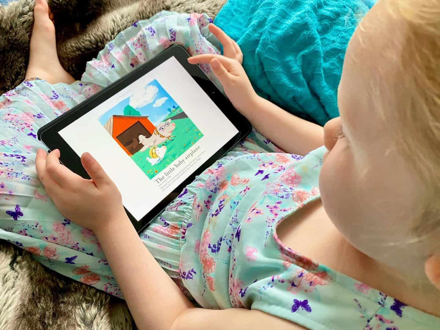 Madeleine Editions Picture Books App Review
