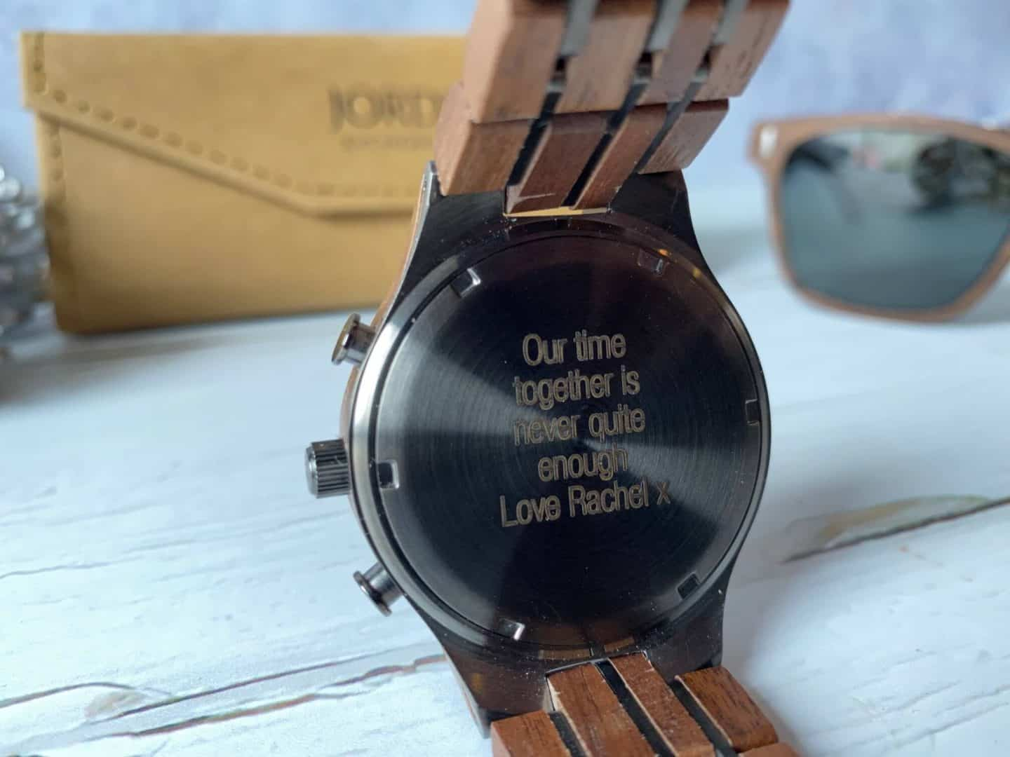 Thoughtful Unique Gift Ideas  - engraved watch