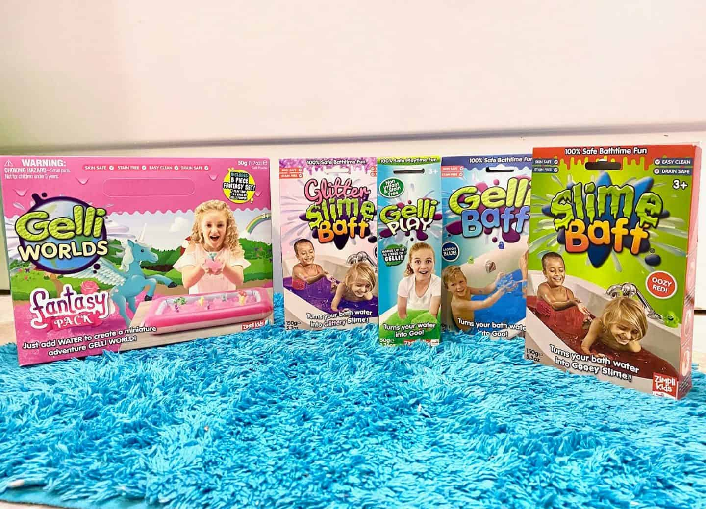 Zimpli Kids - Gelli Baff and Slime Baff Review and Giveaway