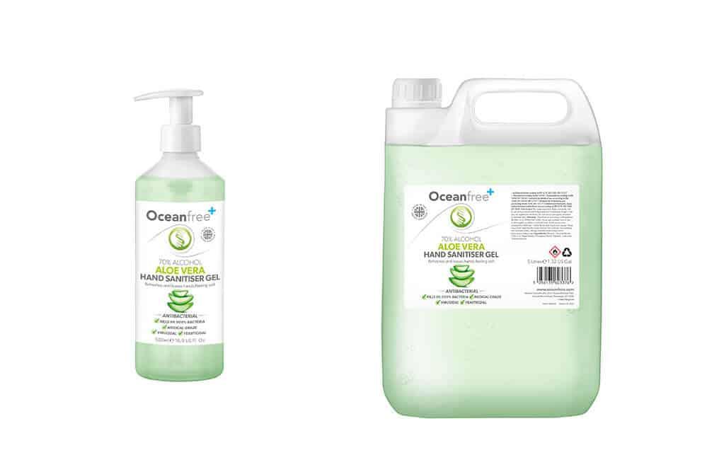 Scented Hand Sanitizers - Aloe vera hand sanitizer