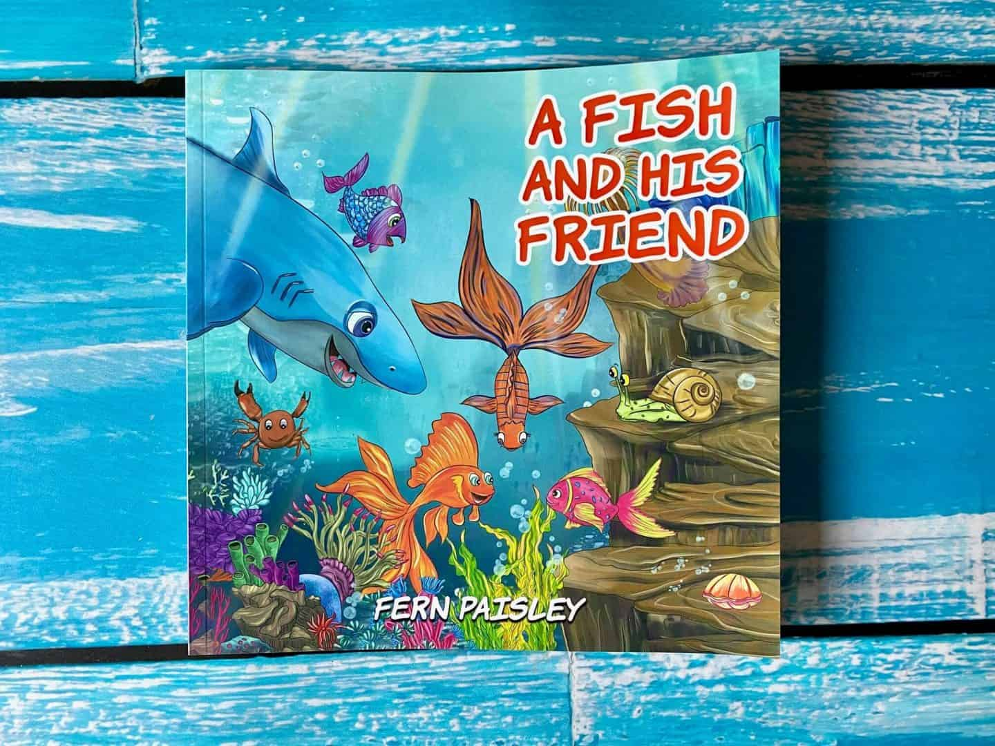 A-Fish-and-His-Friend-by-Fern-Paisley-