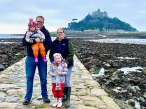 Reflecting On 2020 and Looking Ahead To 2021 - Selfie at Marazion