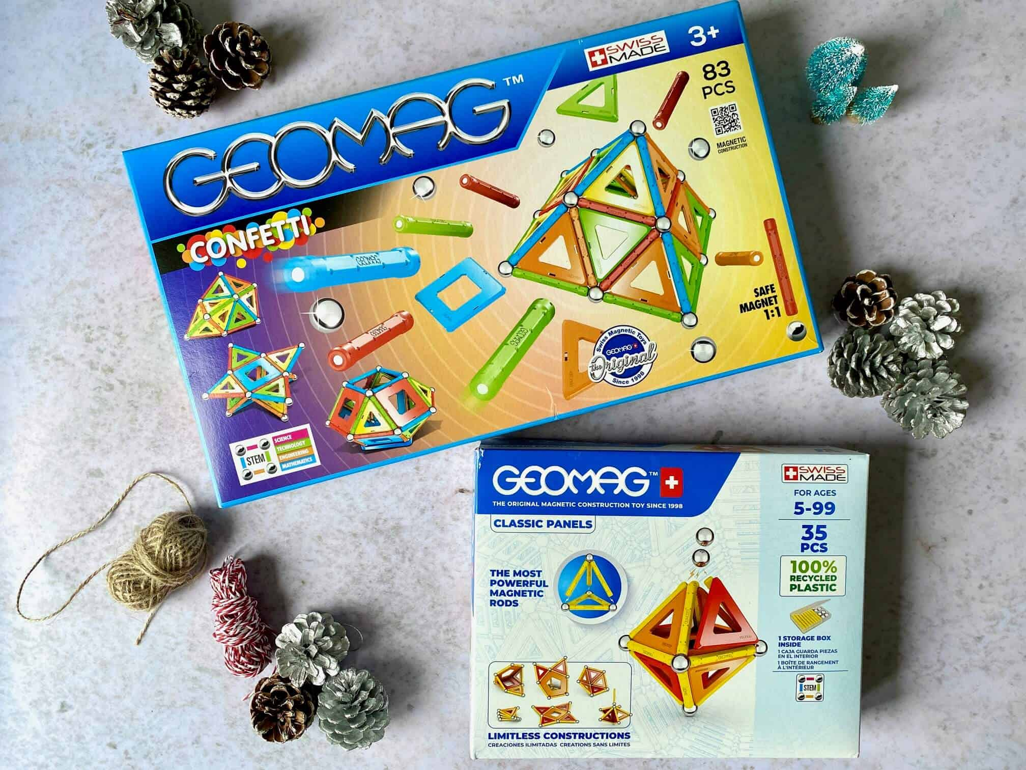 12 Days of Christmas Giveaways – Day 11 Win Geomag Construction Sets