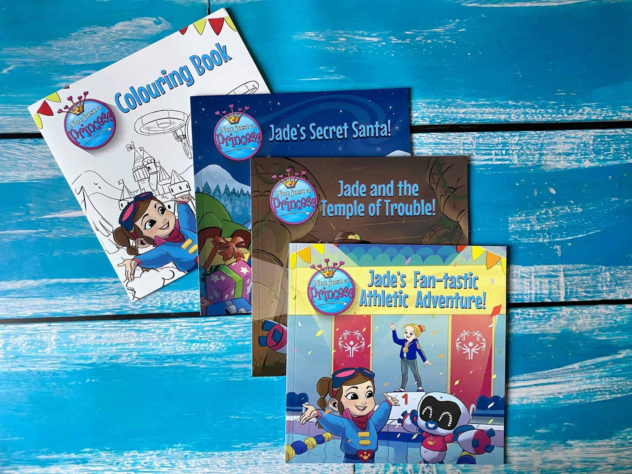 12 Days of Christmas Giveaways – Day 7 Win a Set of Not Just a Princess Books