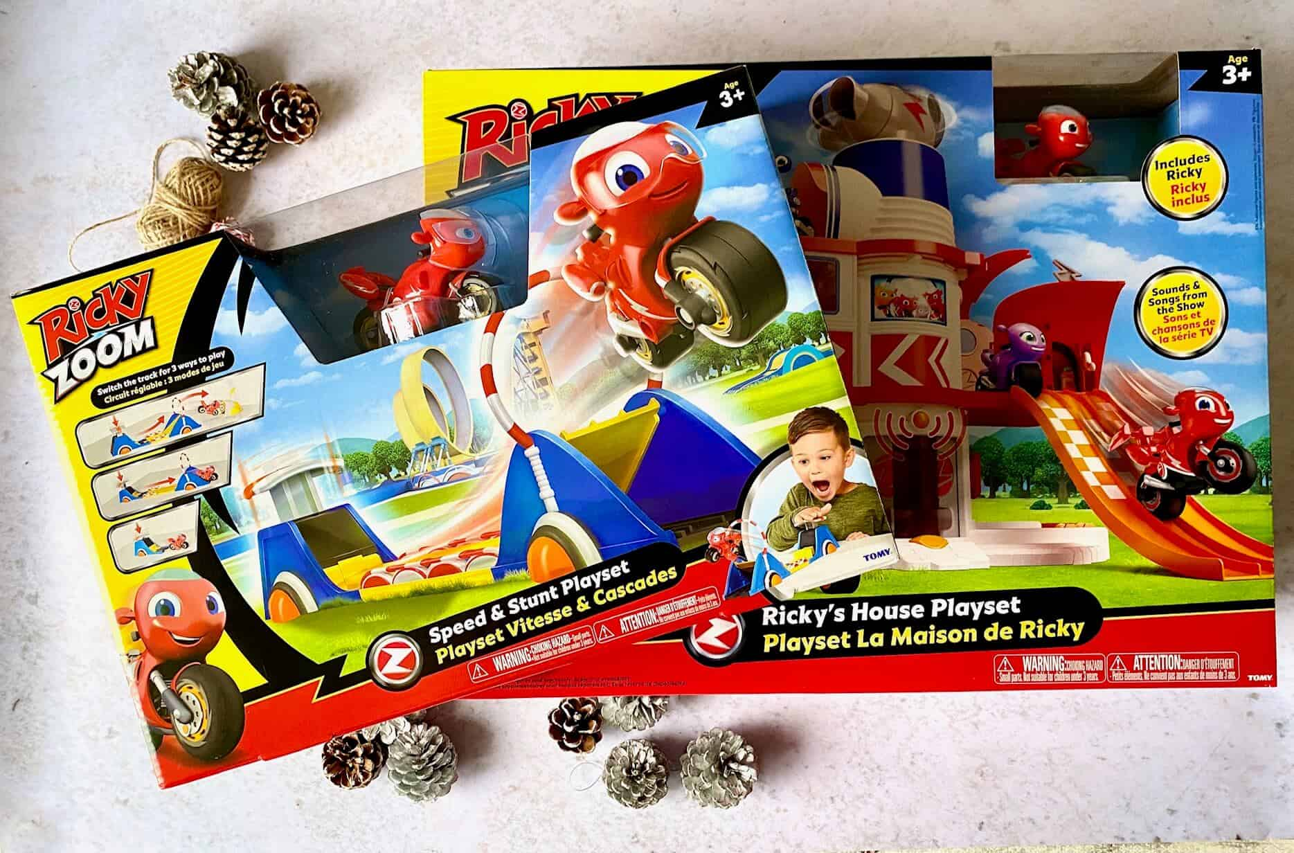 12 Days of Christmas Giveaways – Day 10 Win Ricky Zoom Toys