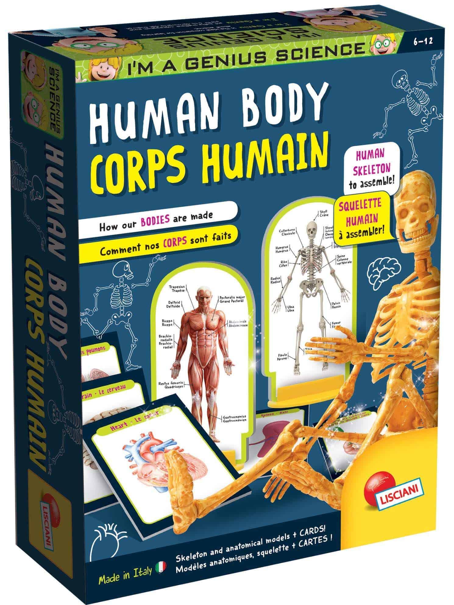 Competition – I'm Genius Human Body Set