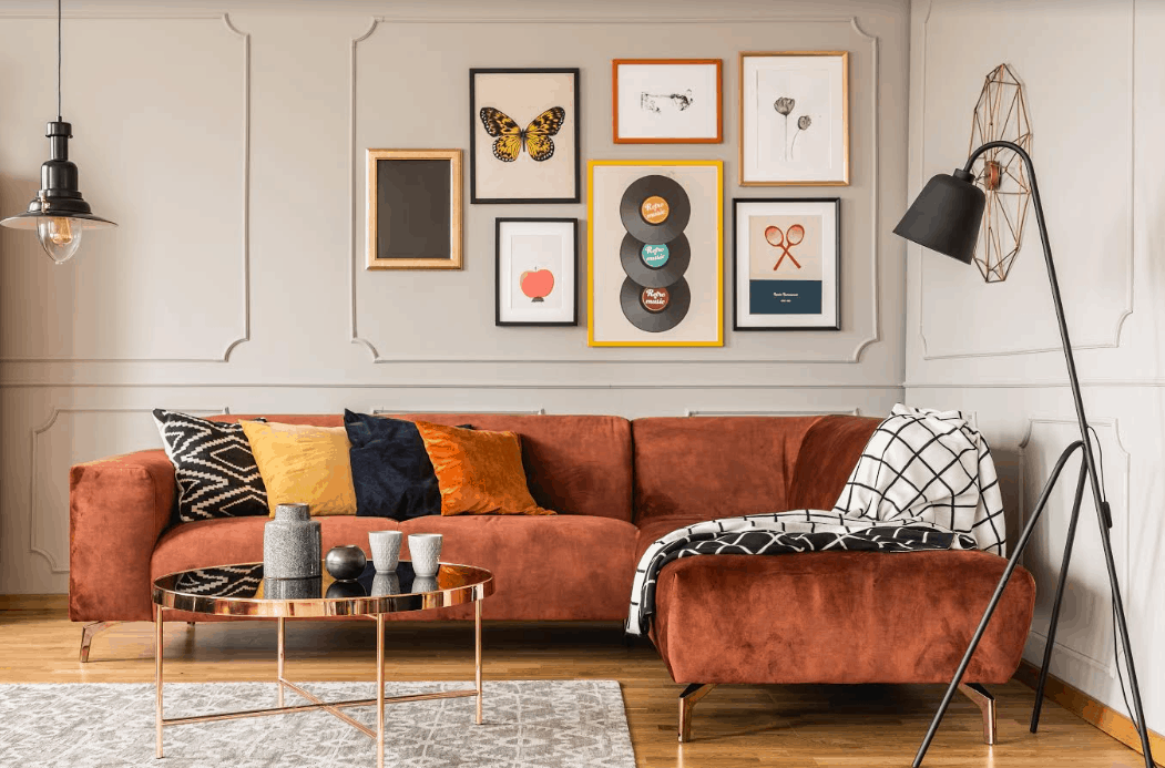choose artwork for rooms in the house